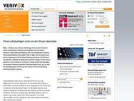 Solaranlage von der Steuer absetzen