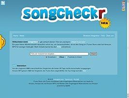Preisvergleich für Online-Musikanbieter bei Songcheckr