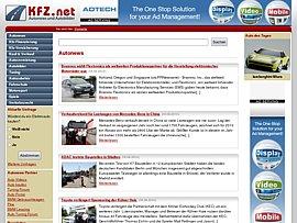 Kfz.net - Auto Community lädt Fans zum Austausch über ihr Hobby ein