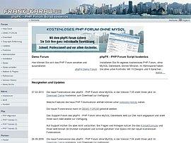 PHP Forum kostenlos ohne MySQL Datenbank
