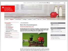 Öko-Haushaltsplaner der Sparkasse hilft beim Sparen