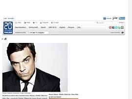 Robbie Williams' neues Album als Medley zum kostenlosen Download