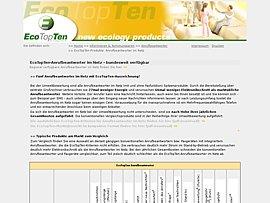 Anrufbeantworter im Netz - Akualisierte Marktübersicht von EcoTopTen
