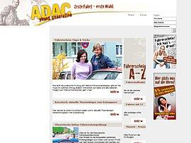 Kostenlose Führerschein-Prüfungsbögen beim ADAC