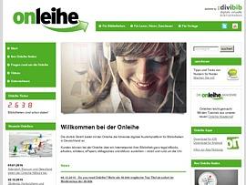 Onleihe - Online digitale Medien aus der Bibliothek ausleihen