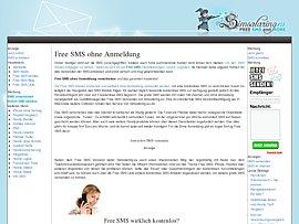 Simsalaring - Kostenloser SMS-Versand ohne Anmeldung