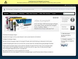 Homepagevorlagen zum kostenlosen Download