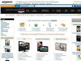 Amazon Warehouse Deals -  Schnäppchen von der Reste-Rampe