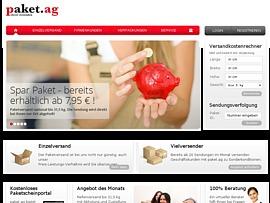 Paketdienst - Günstig und schnell Pakete versenden mit der paket.ag