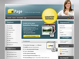 Kostenlose Homepage schnell und einfach selbst erstellen