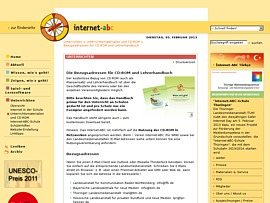 Kinder im Web -  Internet-ABC für Schüler, Lehrer und Eltern