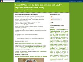Rezepte für Veganer und Vegetarier