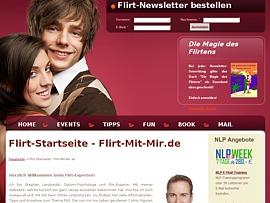Flirt - Kostenloses Ebook, 10-Wochen-Flirt-Training und mehr