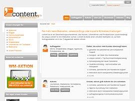 Texte schreiben - Content erstellen und Geld verdienen bei Content.de