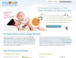 Gratis Hurra-Paket bei Neueintritt in den Rossmann babywelt Bonus-Club