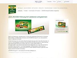 Jacobs Krönung 3in1 - Neuen löslichen Kaffee von Jacobs kostenlos probieren