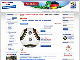 "Günstig: FIFA WM 2010 Spielball ""Jabulani"""