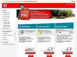 Vodafone: DSL-Special