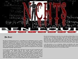 """Spannenden Science Fiction """"Nichts"""" von Ben Louis kostenlos online lesen"""