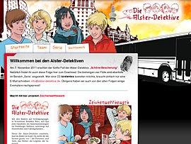 Alster-Detektive -  Fünf kostenlose Hörspiele zum Download und Pixi-Bücher