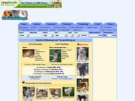 Tiere finden und inserieren