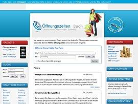 Öffnungszeiten Widget kostenlos für Eure Homepage