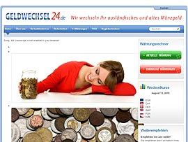 Geld Wechseln Alte Münzen Und Ausländisches Kleingeld Gegen Euro