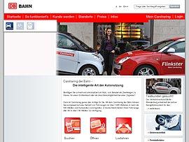 e-Flinkster - Bahn startet Carsharing mit Elektroautos