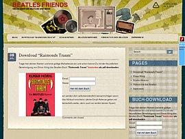 """Beatles-Roman """"Raimonds Traum"""" - Die ersten Seiten kostenlos downloaden"""