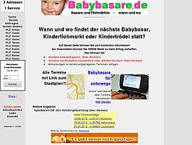Flohmarkt: Babybasare und Kinderflohmarkt-Termine in Deutschland