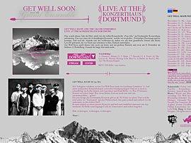 Get Well Soon im Konzerthaus Dortmund - Live-EP zum kostenlosen Download