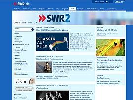 SWR bietet Klassik per Klick - Klassische Musik zum Download oder als Stream