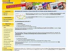 Kalender 2011, 2012, 2013 zum kostenlosen Download