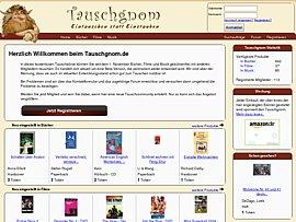 Tauschgnom - Ihr Bücher, Filme und CDs tauschen