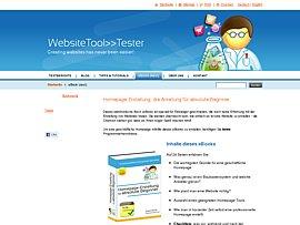 """Kostenloses Ebook """"Homepage-Erstellung für absolute Beginner"""""""