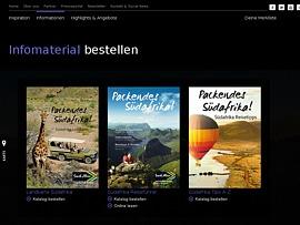 Südafrika -  Drei Reisemagazine kostenlos bestellen