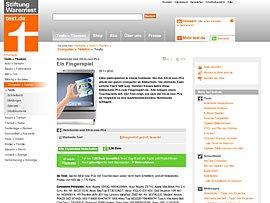Notebooks von Stiftung Warentest geprüft