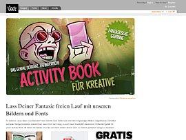 """""""Activity Book"""" - Rätselbuch für Kreative zum kostenlosen Download"""