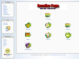 Gutschein für neuste Reseller-Produkte und Partnerprogramm
