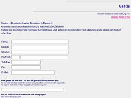 Sprachen: Gratis-Übersetzung Deutsch-Rumänisch