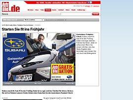 Auto Bild Gutschein-Aktion - Kostenloser Frühjahrscheck für Euer Auto
