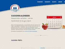 Saisonkalender für Obst mit fruchtigen Rezepten zum kostenlosen Download