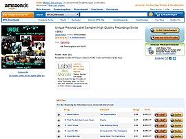 Unique Records Label Sampler zum kostenlosen Download bei Amazon
