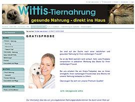 Gratis Testpaket für Hunde- oder Katzenfutter plus 10 Euro Gutschein