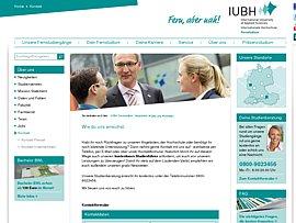 Kostenloser Studienführer der IUBH Hochschule zum Fernstudium