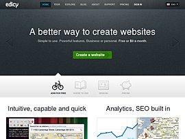 Eigene Webseite einfach und schnell mit edicy.com erstellen