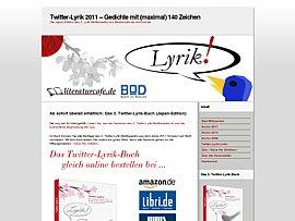 3. Twitter-Lyrik-Buch ab sofort erhältlich