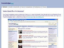 Internetportal Knowledgebay - Wissenswertes von der Hochschule