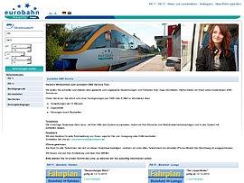 Eurobahn kommuniziert per kostenlosem SMS-Service Abweichungen vom Fahrplan