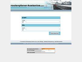Routenplaner kostenlos für die eigene Homepage